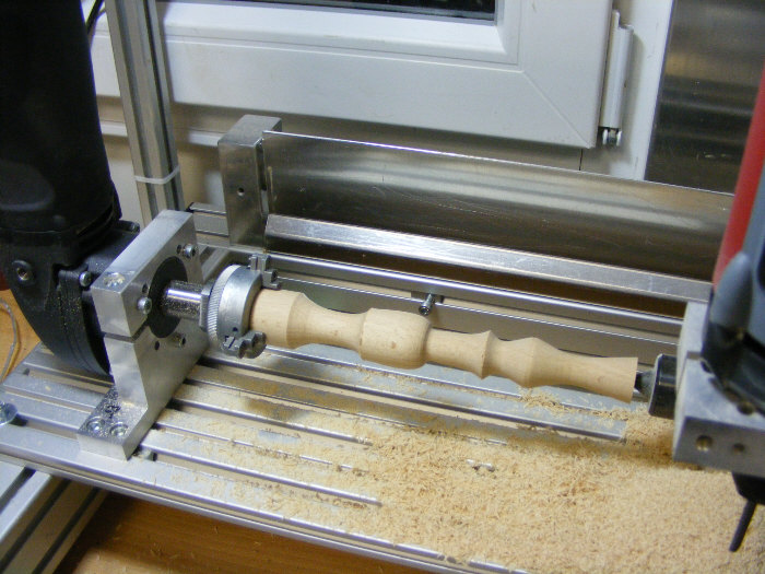 Kit di conversione a tornio cnc step italia for Tornio legno hobby