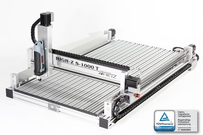 High-Z S1000T, il pantografo CNC ampio ed economico
