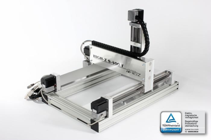 fresatrice cnc rigida compatta e versatile, High-Z S400 una scelta per intenditori, diffida dalle imitazioni
